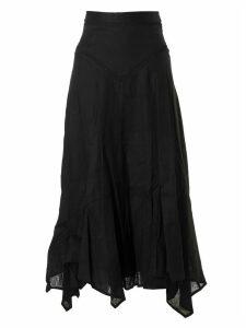Isabel Marant Long Back Zip Skirt