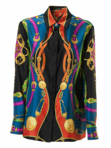 Versace Concealed Printed Shirt
