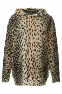 R13 Leopard Printed Sweater