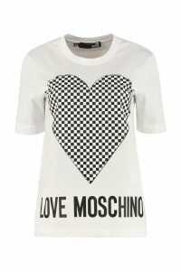 Love Moschino Printed Cotton T-shirt