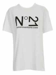 N.21 T-shirt S/s Crew Neck W/logo