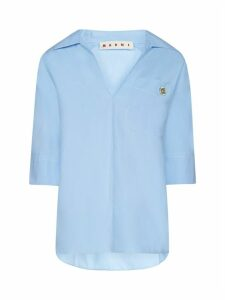 Marni Bluse S/s Polo Neck Shirt