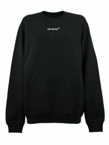 Off-White Sweatshirt In Black Cotton