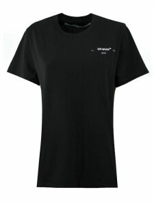 Off-White T-shirt In Black Cotton