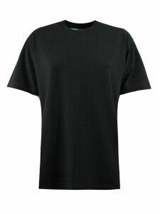 Off-White Black Cotton T-shirt