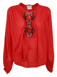 Forte Forte Embroidered Round Neck Shirt