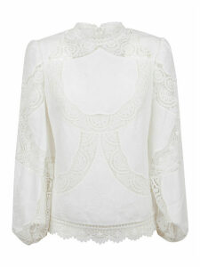 Zimmermann Bonita Crochet Embroidery Top