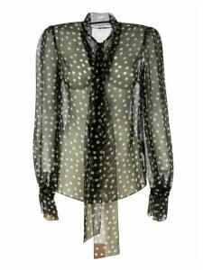 Dolce & Gabbana Polka Dot Lace Shirt