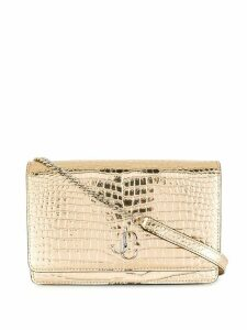 Jimmy Choo Palace metallic crossbody bag - GOLD