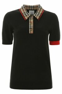 Burberry Penk Polo Shirt With Tartan Motif