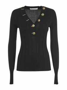 Philosophy di Lorenzo Serafini V-neck Buttoned Sweater