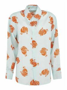 Lanvin Printed Motif Shirt