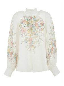 Zimmermann Zinnia Shirred Top