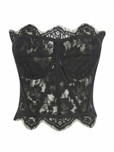 Dolce & Gabbana Laced Back Zipped Top