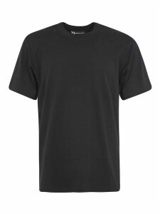 Y-3 Round Neck Back Print T-shirt