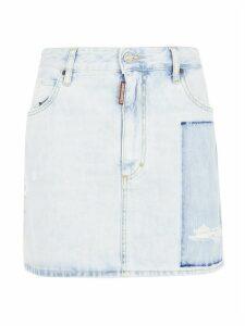 Dsquared2 Short Denim Skirt