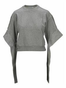 Jw Anderson Jwa Logo Embroidery Tab Sweatshirt