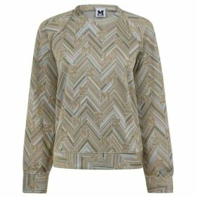 M Missoni Logo Jacquard Sweater
