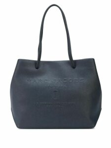 Marc Jacobs East-West logo shopper tote - Blue