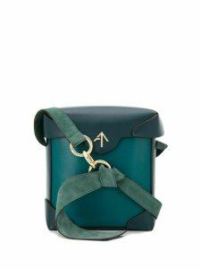 Manu Atelier Mini Pristine bucket bag - Green