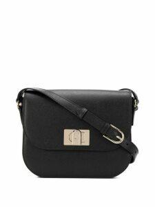 Furla twist-lock shoulder bag - Black