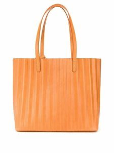 Mansur Gavriel pleated leather tote - NEUTRALS