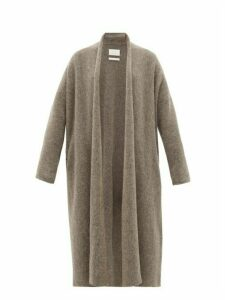 Lauren Manoogian - Uzbek Longline Cardigan - Womens - Dark Grey