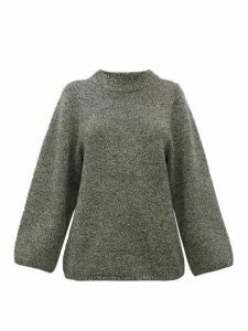Totême - Pomy Merino-wool Sweater - Womens - Grey