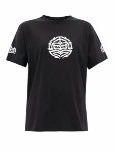 Vetements - Longevity Cotton T-shirt - Womens - Black