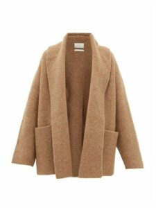 Lauren Manoogian - Shawl-lapel Cardigan - Womens - Camel