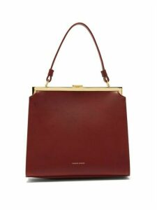 Mansur Gavriel - Elegant Leather Bag - Womens - Burgundy