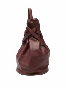 Tsatsas - Kilo Grained-leather Shoulder Bag - Womens - Burgundy
