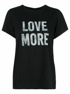 Cinq A Sept Love more T-shirt - Black
