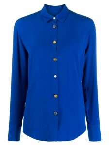 PS Paul Smith eclectic button shirt - Blue