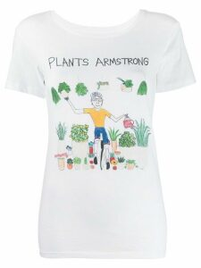 Unfortunate Portrait Plants Armstrong T-shirt - White