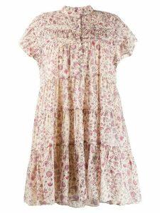Isabel Marant Étoile Lanikaye baby doll dress - NEUTRALS
