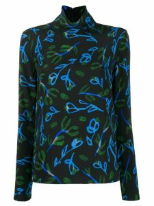 Christian Wijnants Flowers blouse - Black