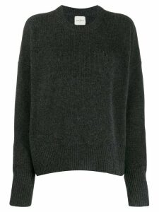 Le Kasha evreux oversized jumper - Grey