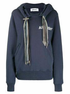 Ambush multi-cord hoodie - Blue
