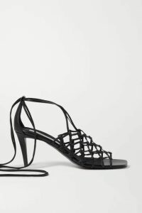 Stella McCartney - Vegetarian Leather Sandals - Black