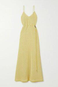 Missoni - Metallic Striped Crochet-knit Maxi Skirt - Pink