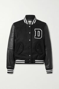GANNI - Fringed Denim Shirt - Black