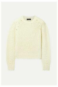 rag & bone - Arizona Oversized Merino Wool Sweater - Cream