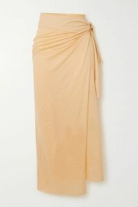 Preen by Thornton Bregazzi - Floral-print Stretch-jersey Top - Blue