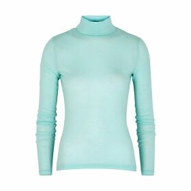 Gestuz Wilma Light Blue Roll-neck Wool Jumper