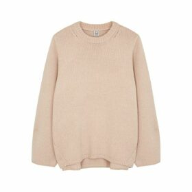 Totême Marans Blush Wool-blend Jumper