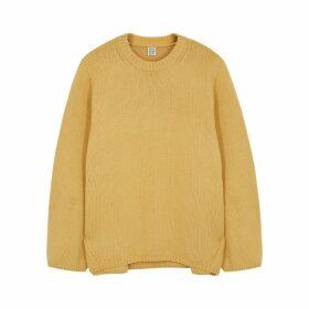 Totême Marans Mustard Wool-blend Jumper