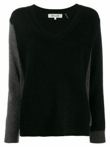 Diane von Furstenberg V-neck jumper - Black