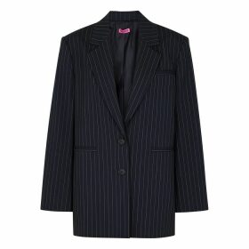 GAUGE81 Luxor Pinstriped Stretch-wool Blazer