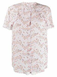 Markus Lupfer floral-print blouse - PINK